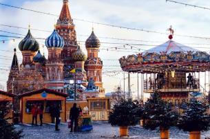 Новый год в Моске